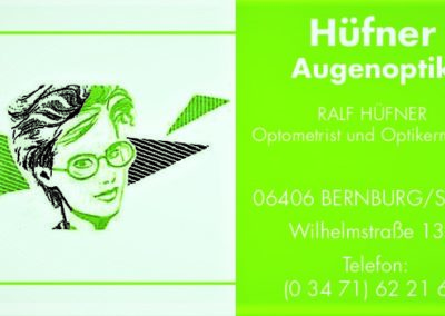 Optiker Ralf Hüfner